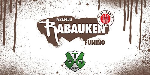 Cover-Grafic FC St. Pauli Rabauken Hallen-FUNiño-Spieltag beim TV Meckelfeld (E-Jugend)