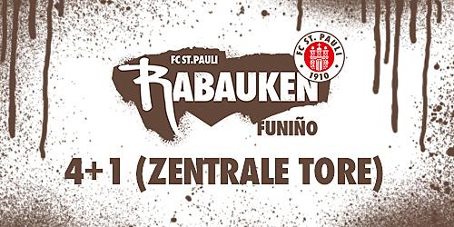 Cover-Grafic FC St. Pauli Rabauken Hallen-FUNiño-Spieltag - Variante: 4+1 - Beim TV Meckelfeld (2010/2011)
