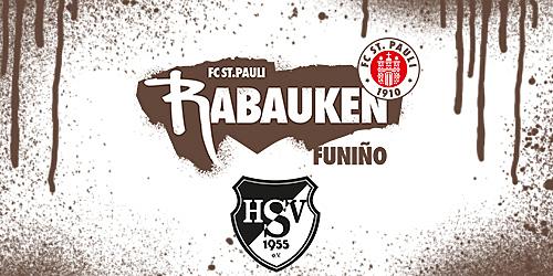 Cover-Grafic FC St. Pauli Rabauken FUNiño-Spieltag beim Hoisbüttler SV (E-Jugend & Junge D-Jugend))