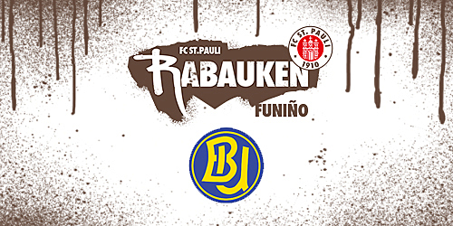 Cover-Grafic FC St. Pauli Rabauken FUNiño-Spieltag beim HSV Barmbek-Uhlenhorst (G-Jugend)