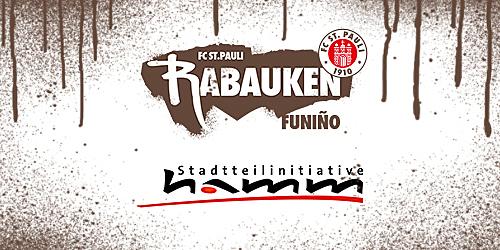 Cover-Grafic FC St. Pauli Rabauken FUNiño-Spieltag auf dem Hammer-Sommerfest (2012-2014)