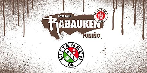 Cover-Grafic FC St. Pauli Rabauken FUNiño-Spieltag beim VFL Sittensen (G-Jugend)