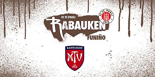 Cover-Grafic FC St. Pauli Rabauken FUNiño-Spieltag beim MTV Ramelsolh (F-Jugend)