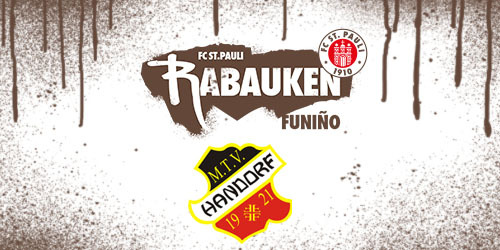Cover-Grafic FC St. Pauli Rabauken FUNiño-Spieltag bei der JSG Roddau (F-Jugend)