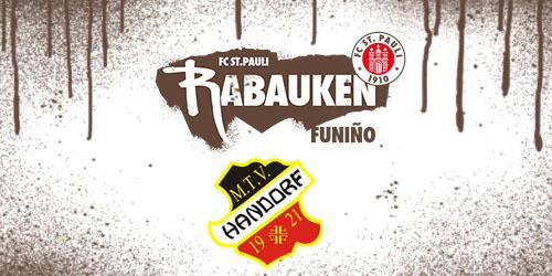 Cover-Grafic FC St. Pauli Rabauken FUNiño-Spieltag bei der JSG Roddau (2013)