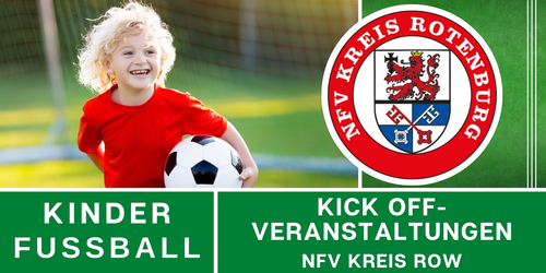 Cover-Grafic NFV Kreis ROW Kick-Off Spieltag (FC Ostereistedt/Rhade)