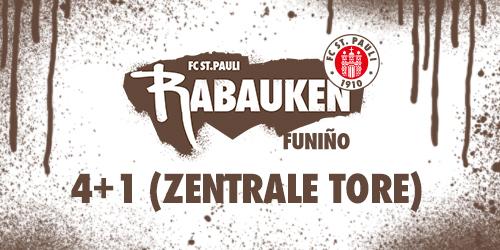 "Cover-Grafic FC St. Pauli Rabauken FUNiño-Spieltag ""4+1"""