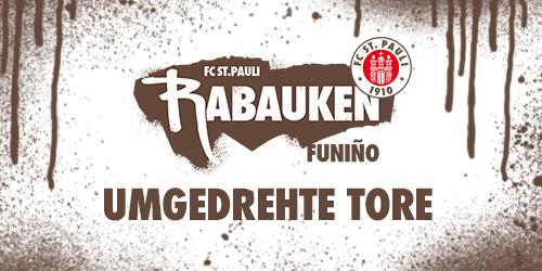 "Cover-Grafic FC St. Pauli Rabauken FUNiño-Spieltag ""Umgedrehte Tore"""