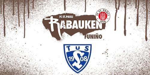 Cover-Grafic FC St. Pauli Rabauken FUNiño-Spieltag beim TuS Lehmden (F-Jugend)